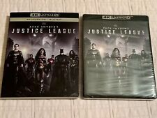 New listing Zack Snyder'S Justice League (4K Blu Ray + Blu Ray + Blu Ray) New + Free Ship!