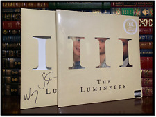 III ✎SIGNED♫ by THE LUMINEERS WESLEY SCHULTZ & JEREMIAH FRAITES New LP Cover