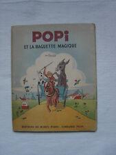 livre POPI et la baguette magique - Trucy - Marly-Paris-Librairie Plon 1946