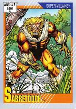 SABRETOOTH / Marvel Universe Series 2 (Impel 1991) BASE Trading Card #56