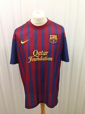 Mens Fc Barcelona Home Shirt - Xl - 2011/12 - #10 Messi - Great Condition