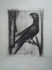 Bernard Buffet gravure Oiseau P1362
