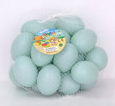 Artificial duck egg Fake Nest Eggs easter eggs Home kitchen Staging Theater Prop