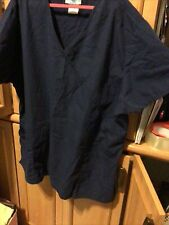 Sb Scrubs Scrub Top! Size 2Xl Navy Blue 2 Tops Will sell together or separately