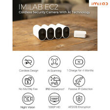 IMILAB EC2 Wireless Home Security Camera set 1080P HD Outdoor Gateway