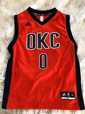 Boys Medium OKC Adidas Westbrook Jersey