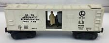 Lionel 3472 O Scale Operating Automatic Refrigerated Milk Box Car NO DOORS