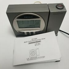 La Crosse Technology Atomic Projection Alarm Clock radio controlled WT-5600