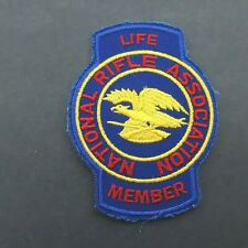 """NRA National Rifle Association Life Member 4"""" Patch"""