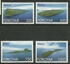 FARÖR/ Inseln MiNr 381/84 **