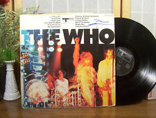 "THE WHO LP ""Self Titled"" TRACK RECORDS AUTOGRAPHED (Signed) by Pete Townshend"