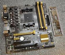 Asus A55BM-PLUS REV. 1.01 AMD Socket FM2b Motherboard complete with Back Plate