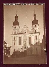 Guerre 1914-1918. Suisse . Arlesheim  . photo de 1916