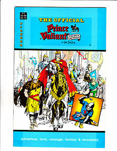 "Official Prince Valiant No 1  -1988-Strip Reprints Soft Cover- ""Classic Cover! """