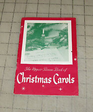 1949 THE UPPER ROOM BOOK OF CHRISTMAS CAROLS Song Booklet