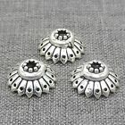 5pcs of 925 Sterling Silver Badminton Style Bead Caps 11.5mm for Bracelet