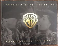 SEVENTY-FIVE YEARS OF WARNER BROS. PICTURES ENTERTAINING THE WORLD Hardcover LN