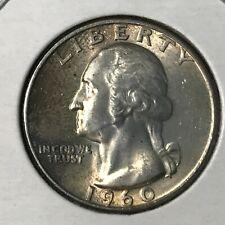1960 WASHINGTON SILVER  25 CENTS NEAR UNCIRCULATED