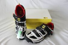 New Mavic Men's Rush 12 Cycling Bike Shoes EU 43 9.5 MTB SPD White 2 Bolt