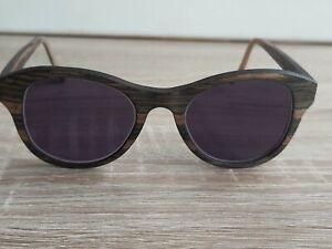 Einstoffen Brille Modell Entdecker - gestreiftes Ebenholz