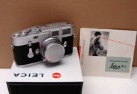 "Leitz Wetzlar - Leica M3 SS Kit Elmar-M 1:2.8/50mm ""Serviced 2020"" - RAR!"
