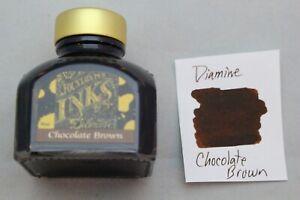 Diamine 80ml Fountain Pen Bottled Ink Chocolate Brown