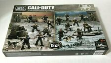 CALL OF DUTY WWII WW2 BATTLE PACK FXG06 415PCS MEGA CONSTRUX - NEW