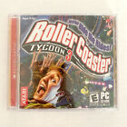 Vintage Roller Coaster Tycoon 3 Computer Pc Cd-rom Video Game Jewel Case