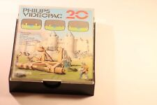 VINTAGE PHILIPS G7000 CONSOLE COMPUTER VIDEOPAC 20 STONE SLING GAME 1980