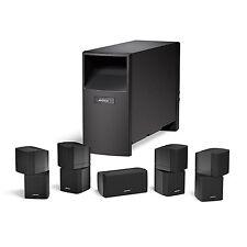 Noire BOSE ACOUSTIMASS 10 5.1 SERIES IV Home Cinéma Système de haut-parleur