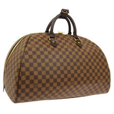 LOUIS VUITTON RIVERA GM TRAVEL HAND BAG AR1002 PURSE DAMIER N41432 AUTH AK37945