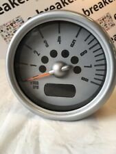 Rev Counter Silver Trim from Mini R50 R52 R53 01-06
