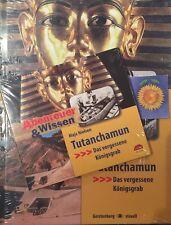 1 Audio CD + Buch Abenteuer & Wissen Tutanchamun Das vergessene Königsgrab Neu