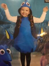 Finding Dory Kids Halloween Costume Size 4-6X Soft Foam New In Package