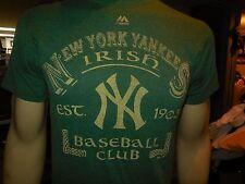 new york yankees irish green tee shirt w tags size sm