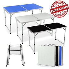 Portable Camping Table+4 Chairs Picnic Food Area Kitchen Outdoor Caravan BBQ