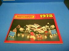 1978 MATCHBOX COLLECTOR'S CATALOG