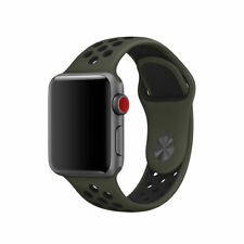 Replacement Silicone Band For Apple Watch Nike+ Sport 38mm/40mm Series 4 3 2 1