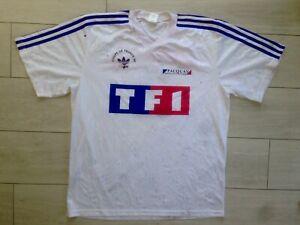 Maillot Adidas Coupe de France 98 Porté Senac #2 Bordeaux Lens Zidane