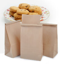 20pcs Vintage Brown Kraft Paper Bags Gift Food Bread Candy Sweet Wedding Party