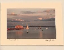 New Tom Johnson Signed 5x7 Photo Matted Autograph Provincetown Art Photography