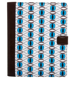 IPAD3 ALLEGRA HICKS EYE TO EYE CHOC Smart Stand Case Cover fit for iPad 2 3