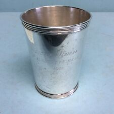 """Manchester Silver Co. Sterling Silver Mint Julep Cup 3 3/4"""" Tall"""
