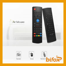 TELECOMANDO TV UNIVERSALE Dongle USB Con Tastiera Wireless Air Mouse Android Box
