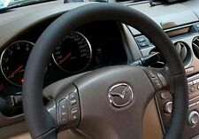 Mazda 2 3 & 6 all Models - Bicast Leather Steering Wheel Cover - NEW