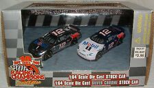 2 Pack Racing Champions 1999 NASCAR 1:64 DieCast Silver Chrome Jeremy Mayfield