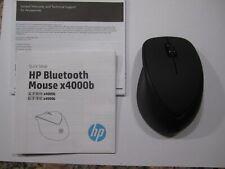 HP X4000b Wireless Bluetooth Mouse - Black NEW