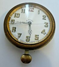 Antique Brevet 33236 Swiss Made Hand Winding 8 Days Travel Clock