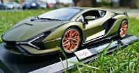 LAMBORGHINI SIAN - METALIC GREEN Diecast Model MAISTO 1:18 Scale LIMITED EDITION