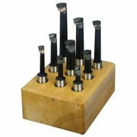 Micro 100 40-7104 Indexable Multi-Purpose 7-Piece Set 1//2 Tool Shank Diameter